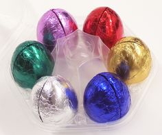Foiled Easter Eggs