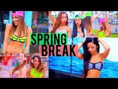 Spring Break 2015! DIY Cover-Ups, 4 Bikini ideas, + What to Bring! - YouTube