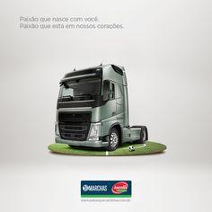 Cliente: 10 Marchas  Projeto: Campanha Copa - paixão por futebol e caminhão #ad #advertising #publicidade #caminhão