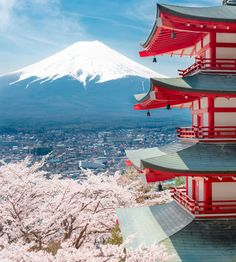 Chureito Pagoda, Fuji by Peerapon Teadtoolkitikul on 500px