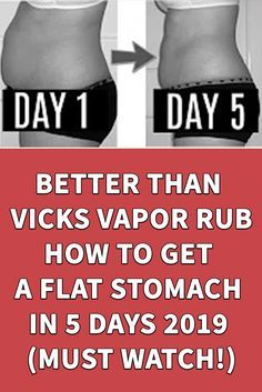 Fast Belly Fat Loss, Loose Belly Fat Quick, Reduce Belly Fat, Burn Belly Fat, Fat Fast, Vicks Rub, Vicks Vapor Rub, Vicks Vaporub Uses, Healthy Breakfast For Weight Loss