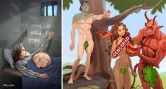 11 Ilustrações Que Mostram O Lado Real Da Nossa Realidade!!!