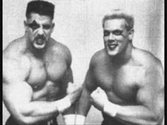 Ultimate Warrior & Sting BLADERUNNERS