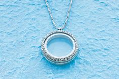 Story Lockets Necklace - Blue Moon Beads Project at michaels.com - Interchangable pieces to switch out for a new look every day!