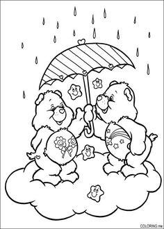 Bear Coloring Pages, Cartoon Coloring Pages, Disney Coloring Pages, Coloring Pages To Print, Free Printable Coloring Pages, Coloring Sheets, Coloring Books, Free Adult Coloring, Coloring Pages For Kids