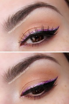 Girly Glitter Liner I've got to try this