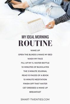 Want to create a healthy daily habit or replicate the habits of successful people? An easy morning routine is the perfect way to start! Get relatable tips and advice to create your personalised morning routine. Don't forget, it only takes 21 days to make a habit!