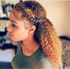 French Braids Ponytail for Black Women braided hairstyles, braids, african american hairstyles, black women hairstyles, # Braids ponytail african american Two French Braids, French Braid Ponytail, French Braid Hairstyles, My Hairstyle, Mixed Race Hairstyles, American Hairstyles, Trendy Hairstyles, Girl Hairstyles, Hairstyles 2018