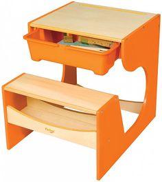 P Kolino Childrens Desk Clever Storage Drawer Kids Furniture Cool