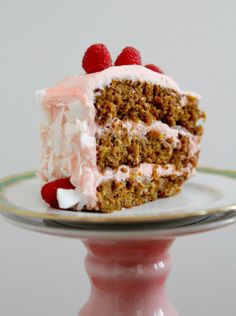 Olive Oil and Whiskey Carrot Cake