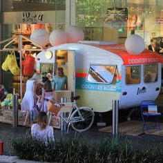 The Country Road CARAVAN arrives in Bondi, Sydney