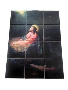 Guarda questo articolo nel mio negozio Etsy https://www.etsy.com/it/listing/242525771/jesus-christ-in-gethsemane-religious