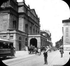 Piazza della Scala 1885