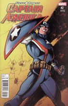 Image: Captain America: Steve Rogers #2 (variant cover - Bagley) - Marvel Comics