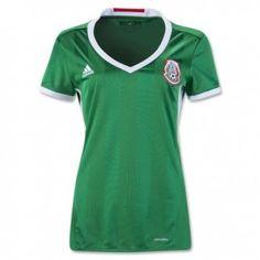 ca63a3c494583 2016 Mexico Home Green Women s Thailand Soccer Jersey Soccer Gear