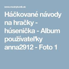 Háčkované návody na hračky - húsenička - Album používateľky anna2912 - Foto 1