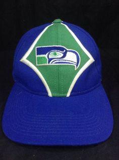 Seattle #Seahawks Hat Starter Pro Line Strapback Cap #StarterProLineTheRightHat #BaseballCap