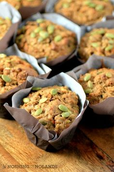 Zucchini Carrot Breakfast Muffins by Noshing With The Nolands