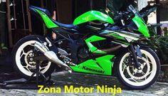 Kawasaki Ninja 250 RR Mono Modifikasi
