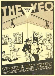 ROGER. CARTEL EXPO THE VEO. MARISCAL, NAZARIO, MONTESOL, MAX. BARCELONA, 1976 - Foto 1