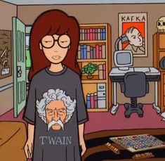 The TV Show Daria featured quite a few emblems of the literary realm. Have you read all of them already?