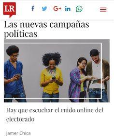Los dejo con mi artículo para el diario @larepublica_co ... Felíz lunes!  #Compol #Politica #Elecciones