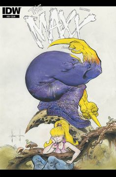 "ryallsfiles: "" New cover for The Maxx: Maxximized by Sam Kieth "" Comic Book Covers, Comic Books Art, The Maxx, Buy Comics, Comic Book Superheroes, Comic Pictures, Image Comics, Geek Out, Manga"