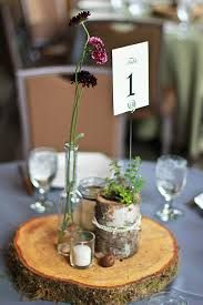 Image result for bark center pieces