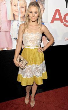 from Fashion Spotlight: Kristen Bell | E! Online