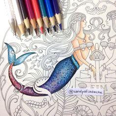 Atelier Gina Pafiadache: Cauda da Sereia - Oceano Perdido - Lost Ocean