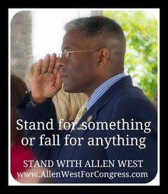 http://www.wnd.com/2013/01/biden-mocks-allen-west/   We respect you, Allen West - the ACTUAL leader!  Very disappointed  Florida drank the George Soros kool-aide.  America's loss!