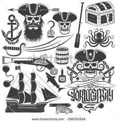 tattoo american traditional pirate life - Pesquisa Google
