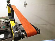 """D.Comeau Custom Knives - DIY Knifemaker's Info Center: BG272 - DIY 2 x 72"""" Belt Grinder"""