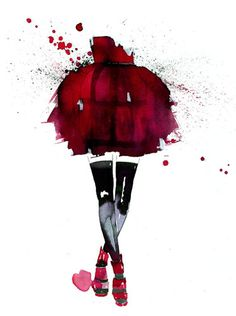 Amelie Hegardt #illustration #fashion illustration#trafficnyc. She is my current favorite artist. She has amazing work.