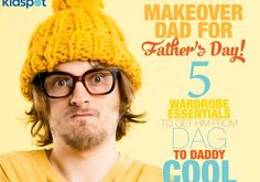 From dag to daddy cool: 5 wardrobe essentials every father must have - Kidspot