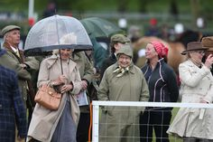 The Queens affectionate kiss for Camilla as they attend Royal Windsor Horse Show. - Photo 1   Celebrity news in hellomagazine.com