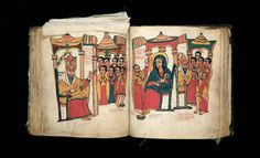 Gonder, Ethiopia  The Miracles of Mary (Te'amire Maryam), Late 17th century, reign of Yohannes (1667–82) or Iyyasu I (1682–1706)  Parchment,...