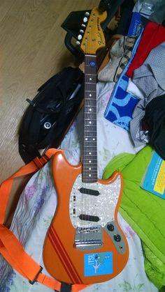 Fender Japan Mustang | 8jt Fender Japan, Guitar Collection, Electric Guitars, Cool Guitar, Mustang, Bass, Music Instruments, Cool Stuff, Mustangs