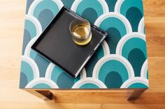 peel-and-stick wallpaper square brings regrets-free style to any room. Make a bold statement on an accent wall or your refrigerator door, and let it add a patterned pop as a contemporary kitchen backsplash or graphic bookcase liner.