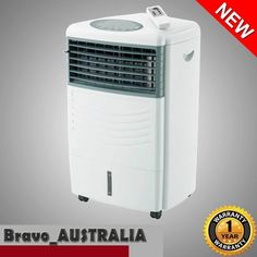Sunair Portable Evaporative Air Cooler Fan Humidifier Cooling w/ Remote control