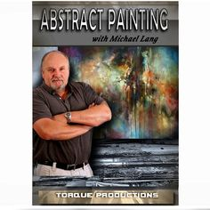 Art Instruction DVD '' Abstract Painting Mix Lang How To Instructional DVD