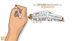5 puntos para una Nueva Arquitectura - Le Corbusier Le Corbusier, Villa, Art History, Architecture, Youtube, Play, Videos, Contemporary Architecture, Social Science