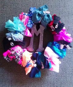 Panty Wreath. Great bachelorette party gift!