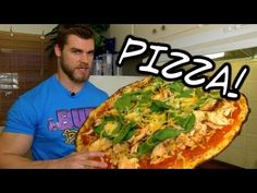 Healthy Pizza Recipe - How to make a Low Carb, High Protein Pizza