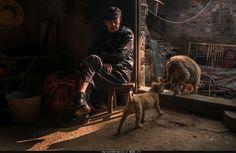 35PHOTO.App - Author: 邓东林, старик жизни оставленных 留守老人的生活