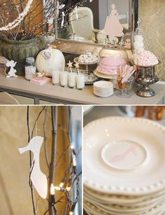 Charming Vintage Cinderella Birthday Party {on a budget!} // Hostess with the Mostess®
