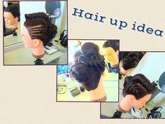 Hair up idea