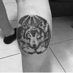 Tattoo lobo #lobos #lobo #tattoo #tattoolobo #tattoowolf #wolf