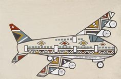 ESTHER Mahlangu 2003: Tuesday 4 November 18h30 till 22 November 2003 - UCT Irma Stern Museum, Cape Town 4th November, Africa Art, Cape Town, Home Art, African Fashion, South Africa, Museum, Art Houses, Airplanes
