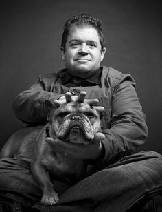 Patton Oswalt (and Grumpus)